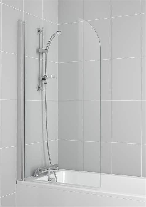 ideal standard  connect   mm radius bath screen