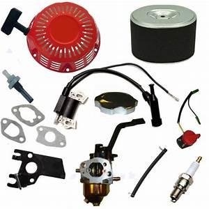 Honda Gx160 Generator Carburetor Recoil Spark Plug