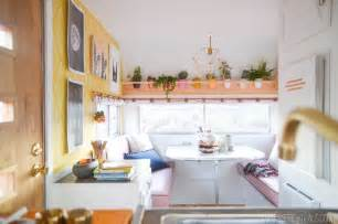 small kitchen redo ideas the nugget vintage trailer makeover reveal vintage