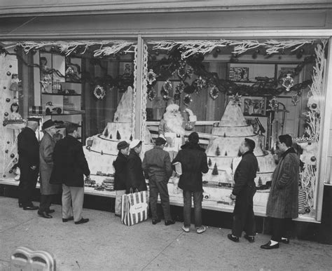 Christmas display, Scranton PA : 1960 | Days of Yore ...