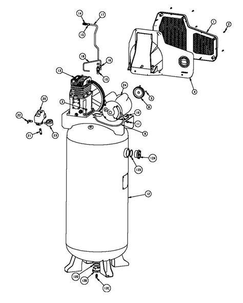 Husky Air Compressor Wiring Diagram Free