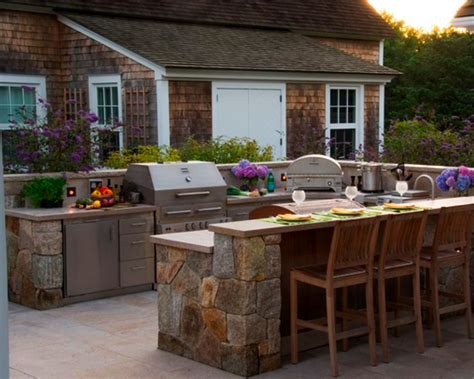 patio kitchen designs outdoor tile garden for floors engineered antique 1425
