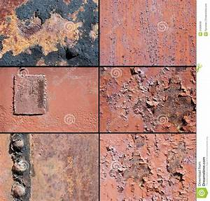 A Rust Metal Texture And Rivet Royalty Free Stock Image ...
