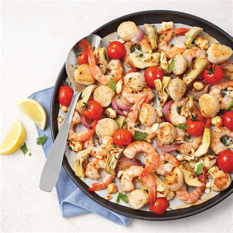 cuisiner des fruits de mer fruits de mer à la grecque recettes cuisine et