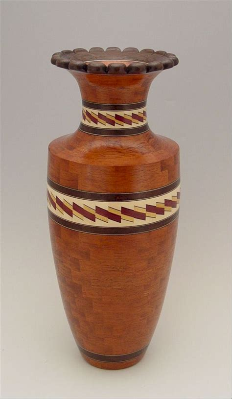Turned Wood Vase - wooden vases by kevin neelley