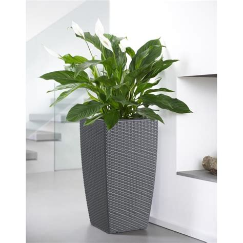 casa mesh pot 224 r 233 serve d eau 30x30x57 cm granite int 233 rieur ext 233 rieur achat vente jardini 232 re