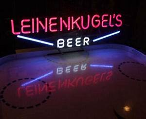 VINTAGE LEINENKUGELS Neon Sign Beer Light Bar KTV Club Pub