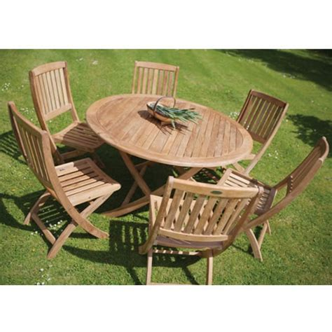 furniture teak outdoor dining set foldable dinning table