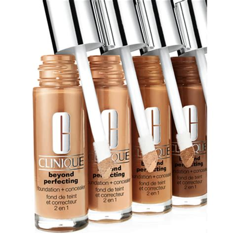 clinique  perfecting    foundation concealer