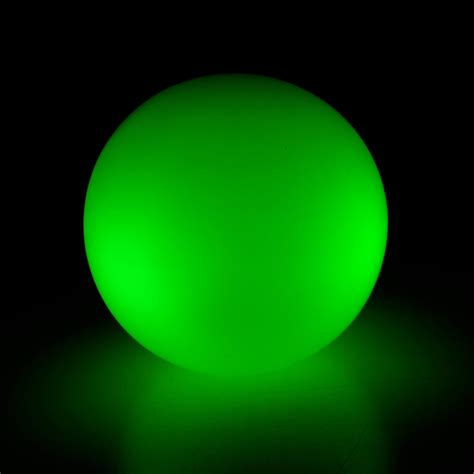 silicon led light ball green mr resistor lighting