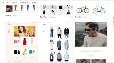Free Shopify Themes Shopify Themes My Top 3 Free Themes Recommendation