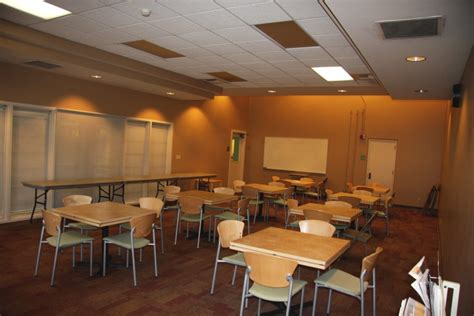 Faculty dining room