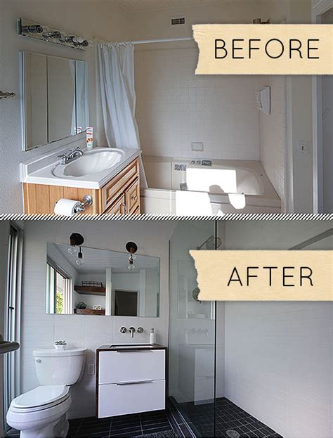 humdrum bathroom   modern makeover