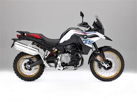 Review Bmw F 850 Gs by Bmw F 850 Gs White Press Right Side