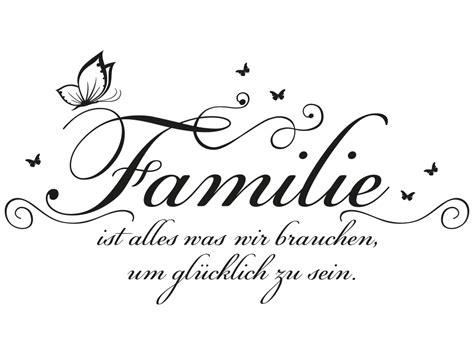 wandtattoo familie ist alles klebeheldde