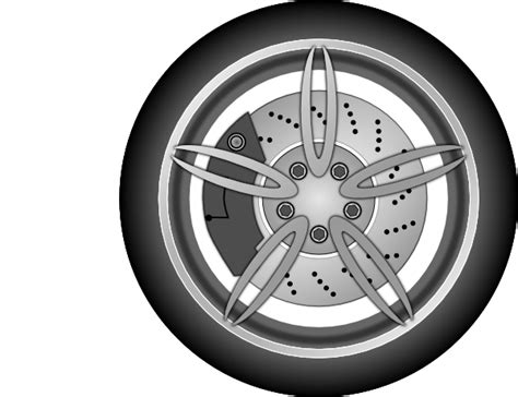 Wheel 1 Clip Art At Clker.com
