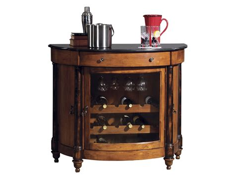 Wine Bar Furniture by Merlot Valley Wine Bar Cabinet By Howard Miller