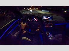 2019 BMW X4 NIGHT DRIVE POV INTERIOR AMBIENT LIGHTING by