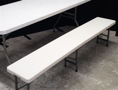 Bench Seat by 1 8m Portable Bench Seat Folding Tables And Chairs