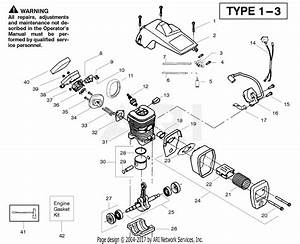 Poulan Pp220 Gas Chain Saw Type 1  220 Gas Chain Saw Parts Diagram For Engine Type 1