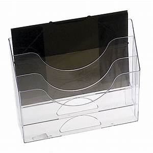 eldon 3 tier letter organiser clear ebay With 3 tier letter file bin