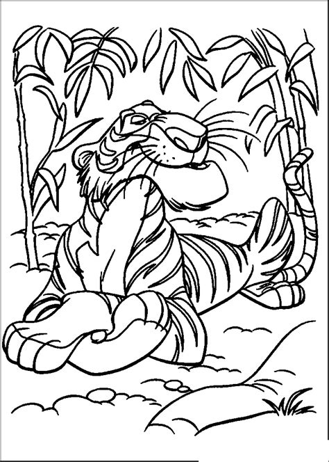 Coloring Sheet by Jungle Coloring Pages Coloringsuite