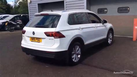 volkswagen tiguan white 2016 volkswagen tiguan se nav tdi bmt white 2016 youtube