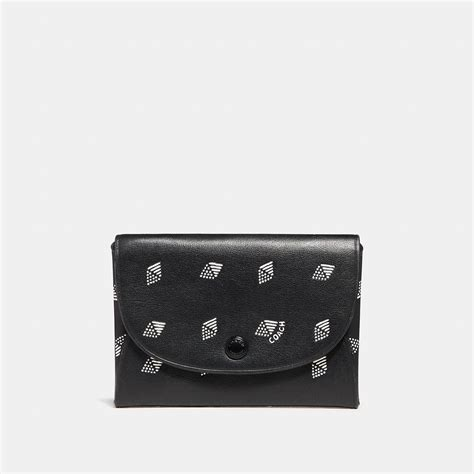 Coach uses cookies to improve your user experience and the quality of this site. Lyst - Coach Snap Card Case With Dot Diamond Print in Black for Men
