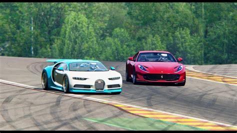 ferrari  superfast  bugatti chiron italy luxury car