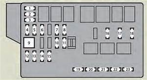 Lexus Is F  2014  - Fuse Box Diagram