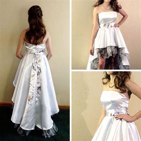 high  style camo wedding dress camo wedding camo