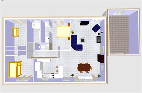 plan de maison 3d 100m2