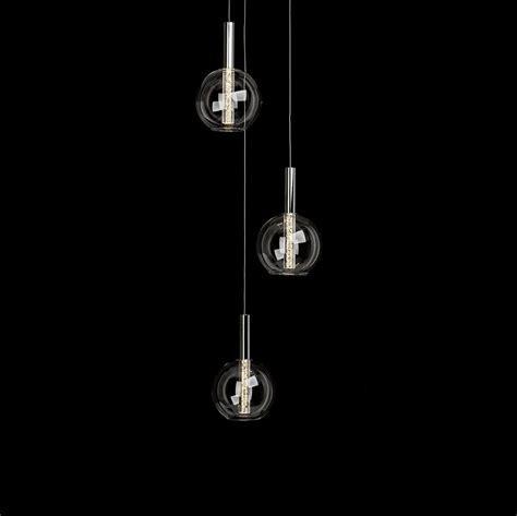 LED Pendelleuchte Elegant mit Glaskugel   WOHNLICHT