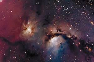 reflection nebula orion m78 lrgb space HD wallpaper
