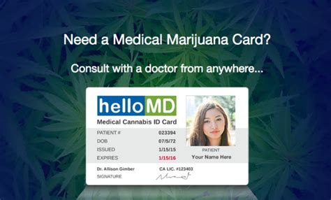 Maybe you would like to learn more about one of these? Getting your medical marijuana card may become as easy as ...