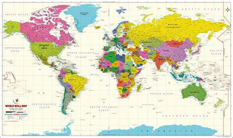 buy world map vivid   india map store  good prices