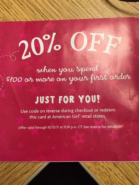 American Girl Doll Coupon Code 20% Off $100 + Exp 10/31 ...