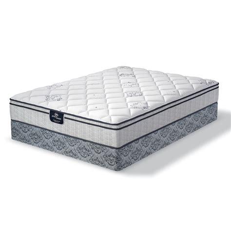 Serta Beds by Serta Eurotop Serta Ridgemore Plush Eurotop Low Profile