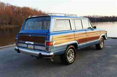 sell   jeep grand wagoneer limited marine teak