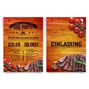 einladungskarten design einladungskarten zum geburtstag im bbq design barbecue grill steak essen grillen ebay