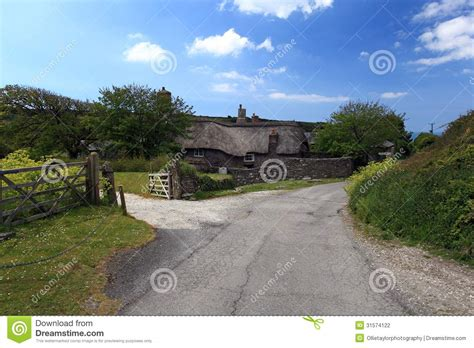 thatched cottage devon stock photo image of europe home 31574122