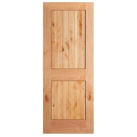 3 panel interior doors home depot masonite 40 in x 84 in knotty alder veneer 2 panel plank