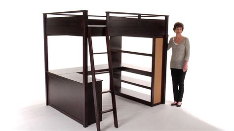 choose loft beds for space saving room decor pbteen