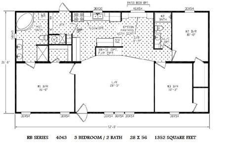 Double Wide Floor Plans Houses Flooring Picture Ideas