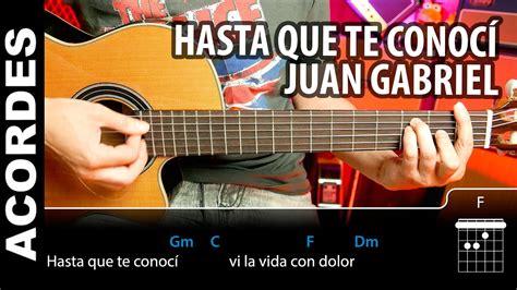 Juan Gabriel Acordes Para Guitarra