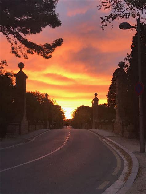 Sunset in Barcelona Spain | Barcelona spain, Sunset, Outdoor