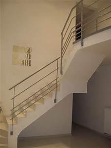 Rampe D Escalier Moderne : rampe d 39 escalier en fer forg ~ Melissatoandfro.com Idées de Décoration