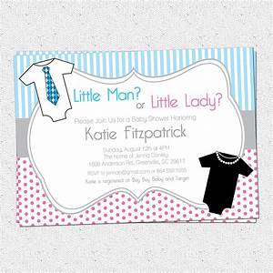Gender Neutral Reveal Baby Shower Invitation by OhCreativeOne
