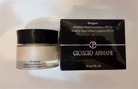 giorgio armani designer shaping foundation best foundations for winter list of top ten