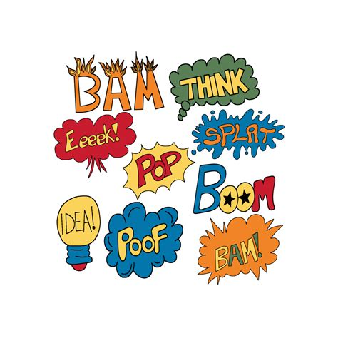 words clipart 9